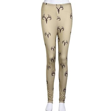 Women's Skinny Printed Leggings