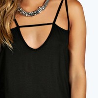 Plus Hollie Strappy Front Camisole