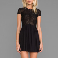 bless'ed are the meek Terrace Dress in Black