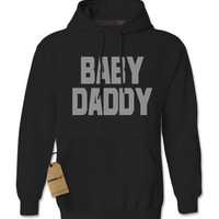 Baby Daddy Funny Father's Day Adult Hoodie Sweatshirt