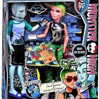 Monster High Mansters 2-pack Gil Webber and Deuce Gorgon