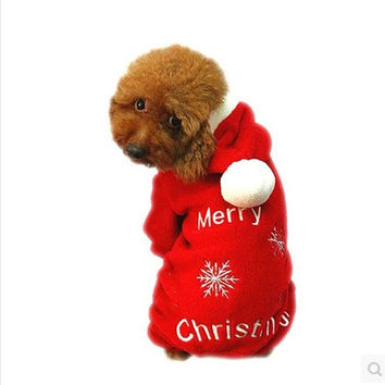 Hot Deal Christmas Sweater Pet's Apparel [9199346884]