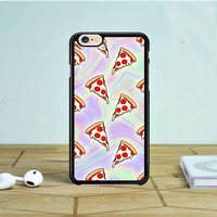 Tie Dye Pizza Slices iPhone 6 Case Dewantary