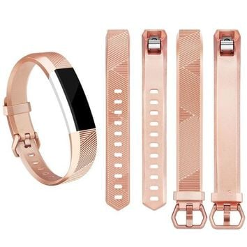 VONW3Q Vancle Fitbit Alta HR Bands and Fitbit Alta bands (3 PACK), Newest Sport Replacement Wristbands with Secure Metal Buckle for Fitbit Alta HR/Fitbit Alta
