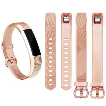ONETOW Vancle Fitbit Alta HR Bands and Fitbit Alta bands (3 PACK), Newest Sport Replacement Wristbands with Secure Metal Buckle for Fitbit Alta HR/Fitbit Alta