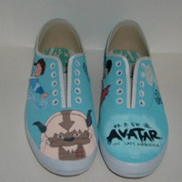 Avatar the Last Airbender Custom Shoes
