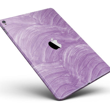 "Purple Brush Strokes Full Body Skin for the iPad Pro (12.9"" or 9.7"" available)"