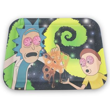 Rick & Morty Bamboo Fiber Tray (13 x 10)