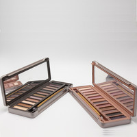 Resale Brand Makeup 12 Colors Eye Shadow Palette Nude Color Eyeshadow Palette Drop Free Shipping