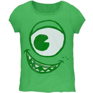 PEAPGQ9 Monsters, Inc. - Mike Face Girls Juvy Costume T-Shirt