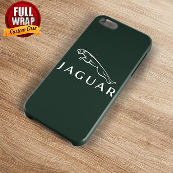 Jaguar Automobile Car Logo Full Wrap Phone Case For iPhone, iPod, Samsung, Sony, HTC, Nexus, LG, and Blackberry