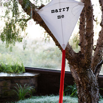 Handmade Kite MARRY ME