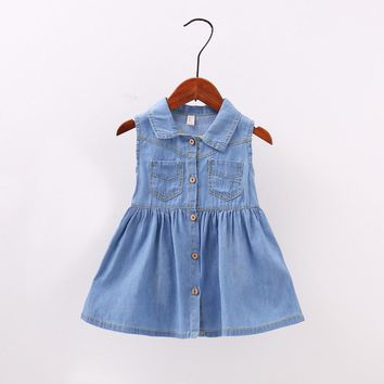 Dannica's Denim Dress