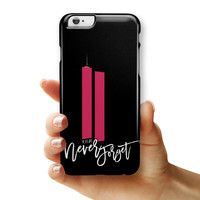 Never Forget 9/11 v9 - iPhone 6/6s or 6/6s Plus INK-Fuzed Case