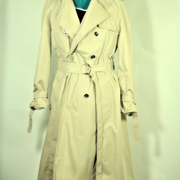 Vintage London Fog Trench Coat Made in the USA.