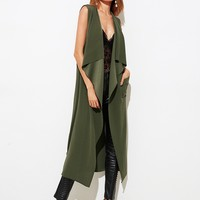 Trench Waterfall Vest