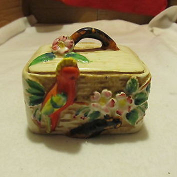 MADE IN OCCUPIED JAPAN VINTAGE TRINKET BOX
