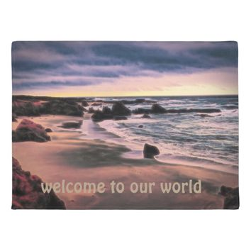 Welcome to our world, doormat