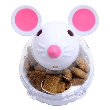 Feeding Interactive Toy Mouse Tumbler Leakage Food Ball Dog Cat Pet Shop Funny Toys Feeder Puppy Play Supplies For Small Dogs