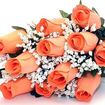 Georgia Peach Bouquet | Jewelry Roses® Bouquet