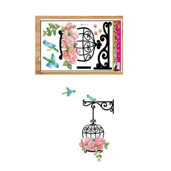 Birdcage Wallpaper For Kids Rooms