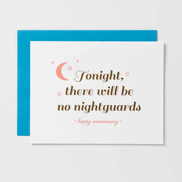 Tonight There Will Be No Nightguards