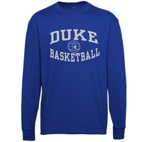 Duke Blue Devils Reversal Basketball Long Sleeve T-Shirt - Duke Blue