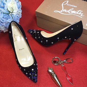 Sale Christian Louboutin CL 100mm Patent Leather High Heels W05