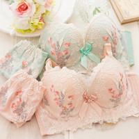Japanese sweet lace lingerie