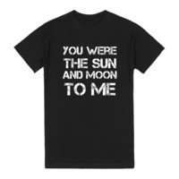 Sun & Moon (Black) - EDM T-Shirt Inspired by Above & Beyond