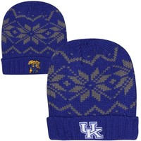 Top of the World Kentucky Wildcats Thermia Cuffed Knit Beanie - Royal Blue