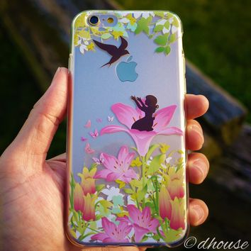 MADE IN JAPAN Soft Clear iPhone 6/6s Case - Thumbelina