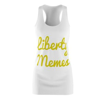 Liberty Memes Racerback Dress