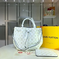 LV Louis Vuitton MONOGRAM LEATHER Girolata HANDBAG SHOULDER BAG