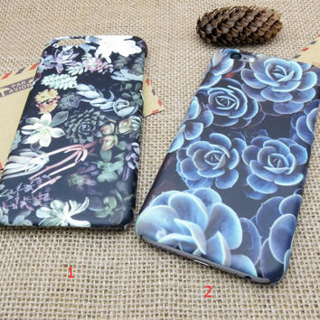 Vintage Leaves Floral Case Cover for iPhone 5se 5s 6 6s Plus