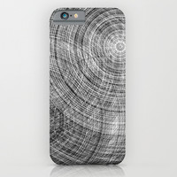 Gray cycles iPhone & iPod Case by Haroulita