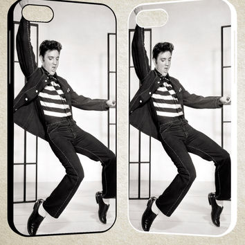 ELVIS DANCING F0414 iPhone 4S 5S 5C 6 6Plus, iPod 4 5, LG G2 G3, Sony Z2 Case
