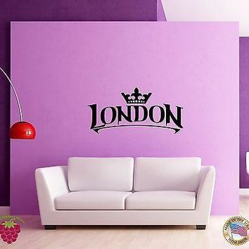 Wall Sticker London England Britain Travel Living Room Unique Gift (z1598)