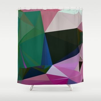 No Boundaries Shower Curtain by Ducky B