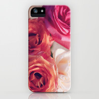 Roses iPhone & iPod Case by Starrs' Photography
