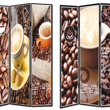 Outstanding 8Room Divider -Coffee Theme