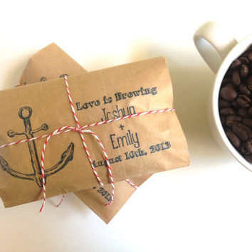 Nautical-Themed Wedding Favors Set of 25