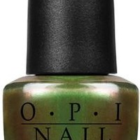 OPI Nail Lacquer - Green on the Runway 0.5 oz - #NLC18