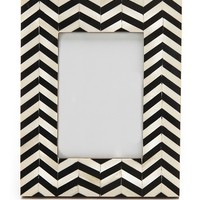 Gift Boutique Chevron Inlay Picture Frame