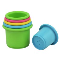 green sprouts Sprout Ware Stacking Cups made from Plants (6 cups)