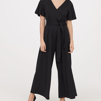 H&M Jumpsuit with Tie Belt $49.99