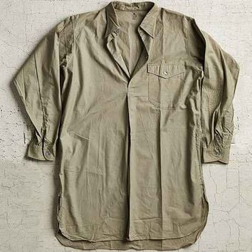 Vintage Khaki Washed Out Shirt- Assorted One