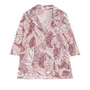 Tropical print shirt - Top Top Top - Clothing - Woman - PULL&BEAR United Kingdom