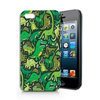 Dinosaurs Plastic Phone Case for Iphone 5 5s_ SUPERTRAMPshop