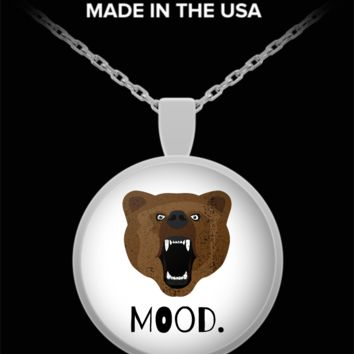 FIERCE BEAR CURRENT MOOD NECKLACE